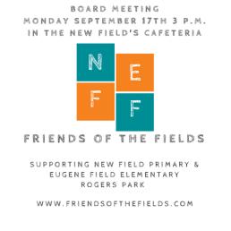 Friends of the Fields Board Meeting