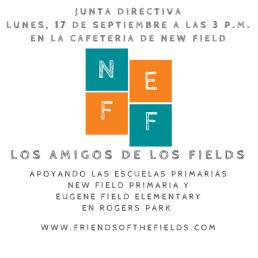 Junta Directiva Amigos de los Fields